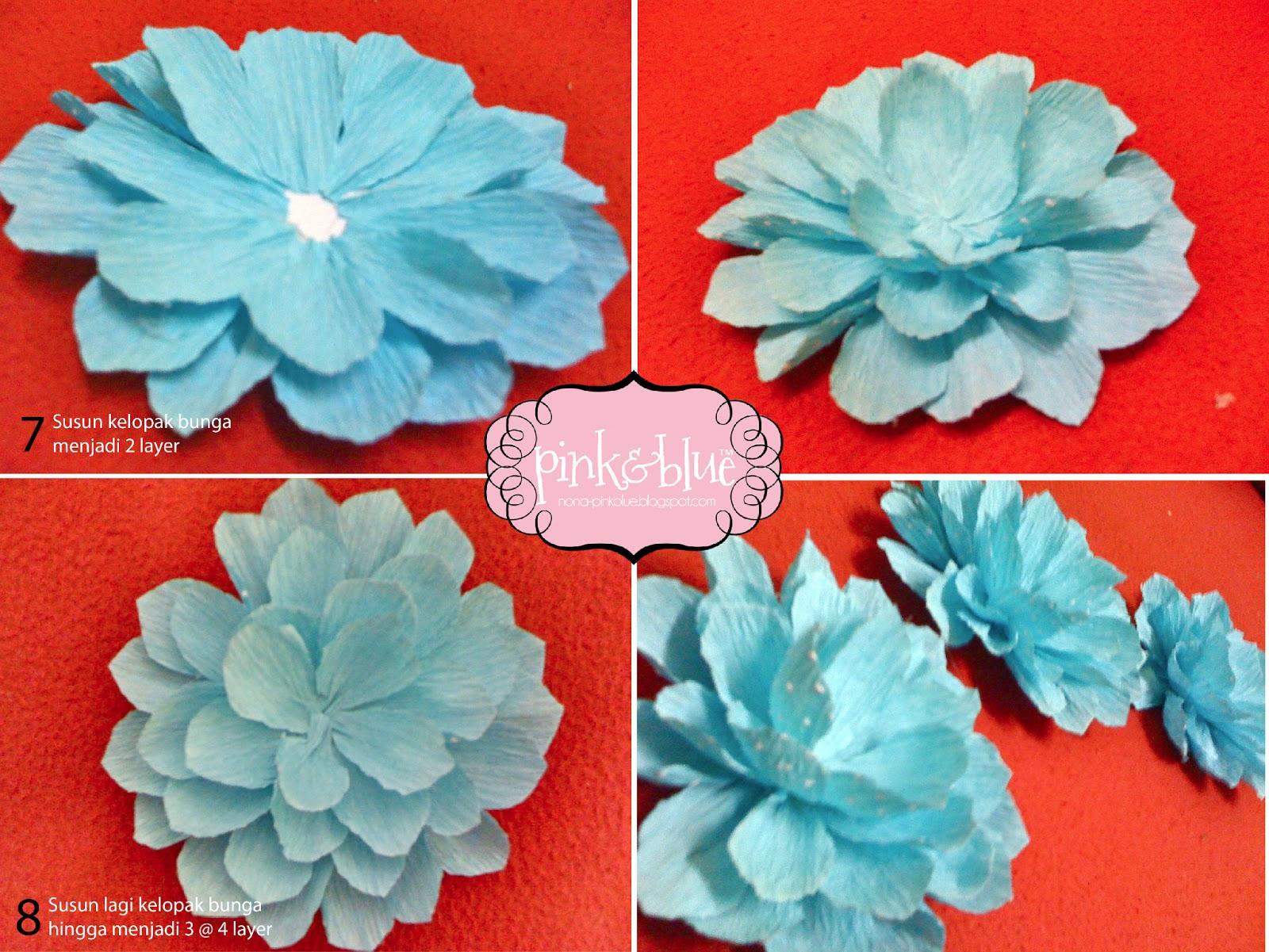 pink&blue: DIY Bunga Telur: Daisy Crepe Paper