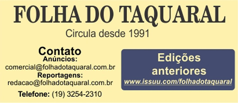 Folha do Taquaral