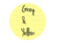 grey and yellow - grijs en geel