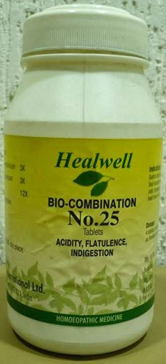 bio-combination 25 Acidity, Flatulence, Indigestion