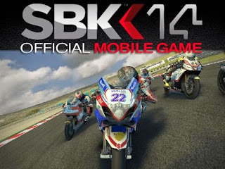 Screenshots of the SBK14: Official mobile game for Android tablet, phone.