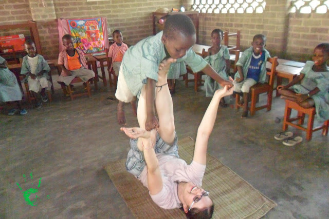 I bambini della scuola elementare della Missione in Togo