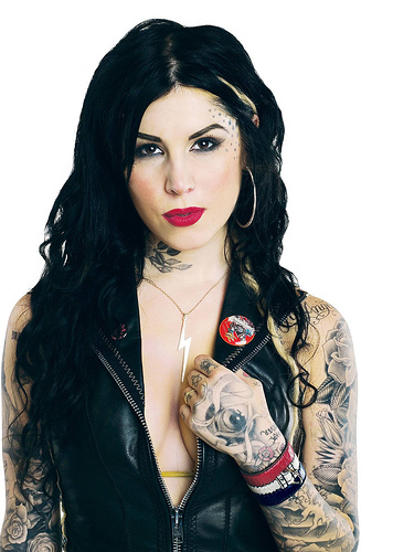 Kat Von D Katherine Drachenberg is an American tattoo artist and