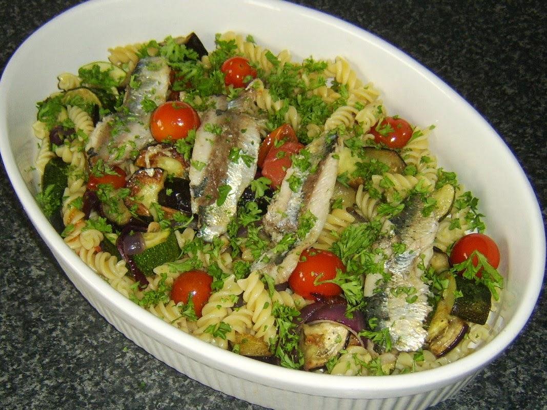 Mediterranean Zucchini Noodles With Sardines Recipes — Dishmaps