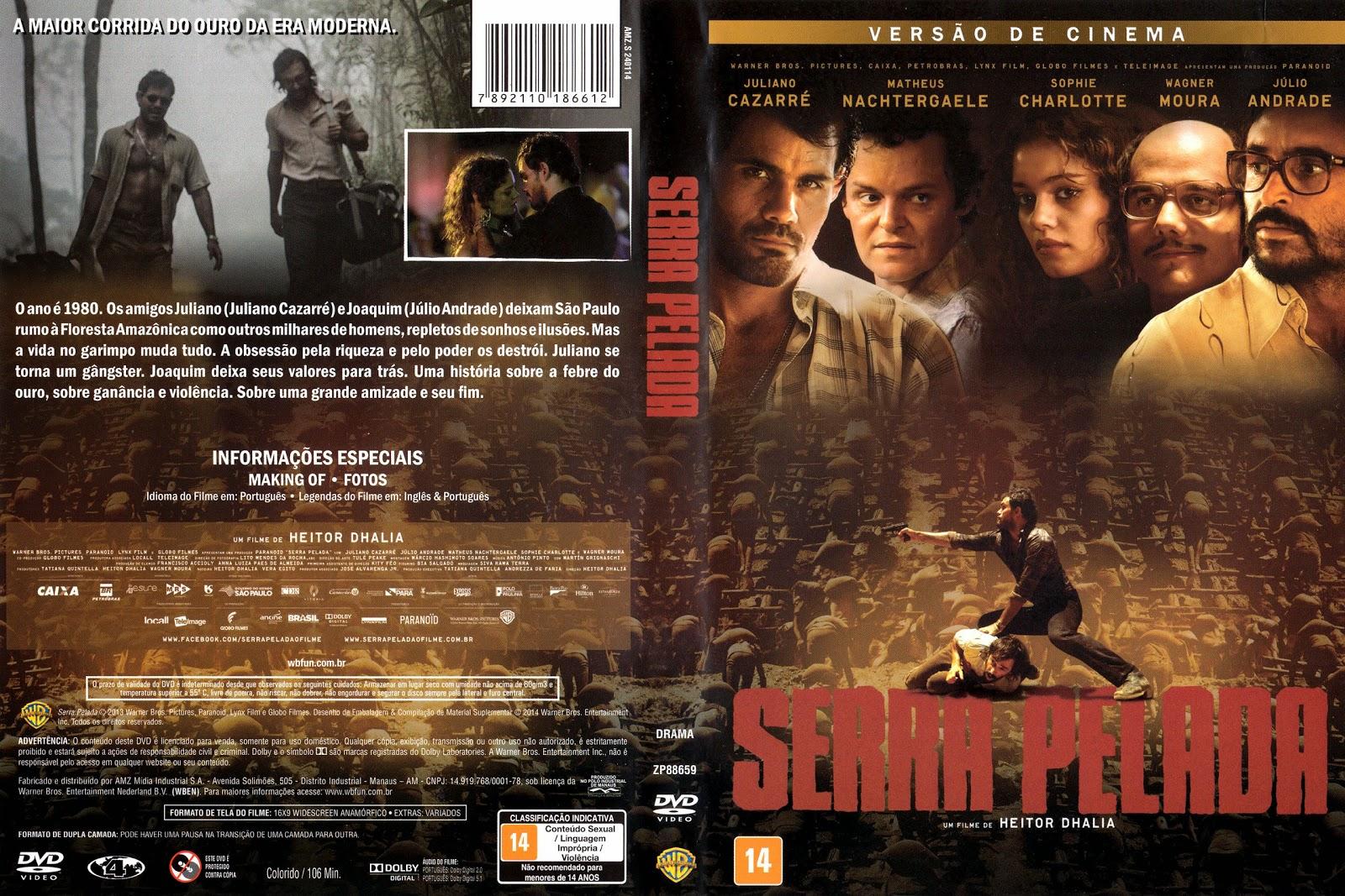 Capa DVD Serra Pelada