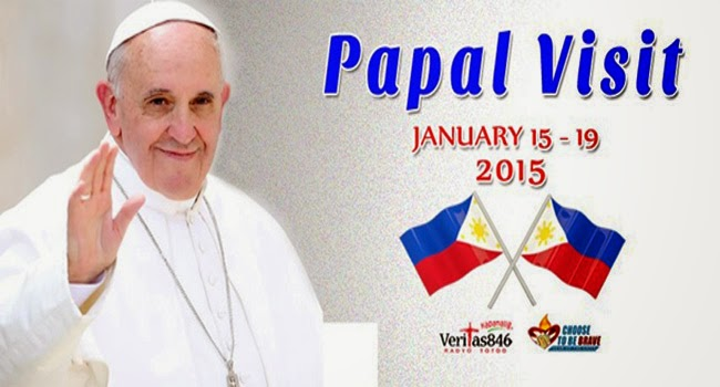 Announcement of January 2015 List of Holidays for Pope Visit