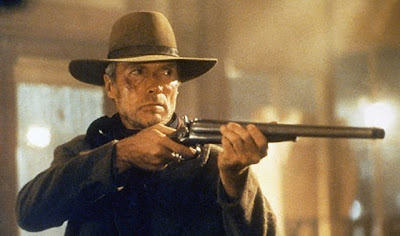 Vuurgevecht in Unforgiven, Clint Eastwood