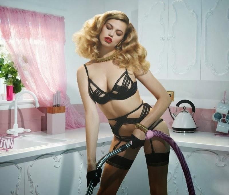 Ad Photoshoot : Agent Provocateur Spring 2014 Campaign