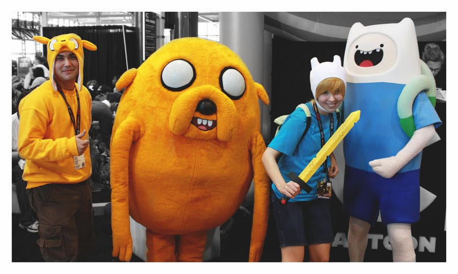 DIY Adventure Time Adult Costumes