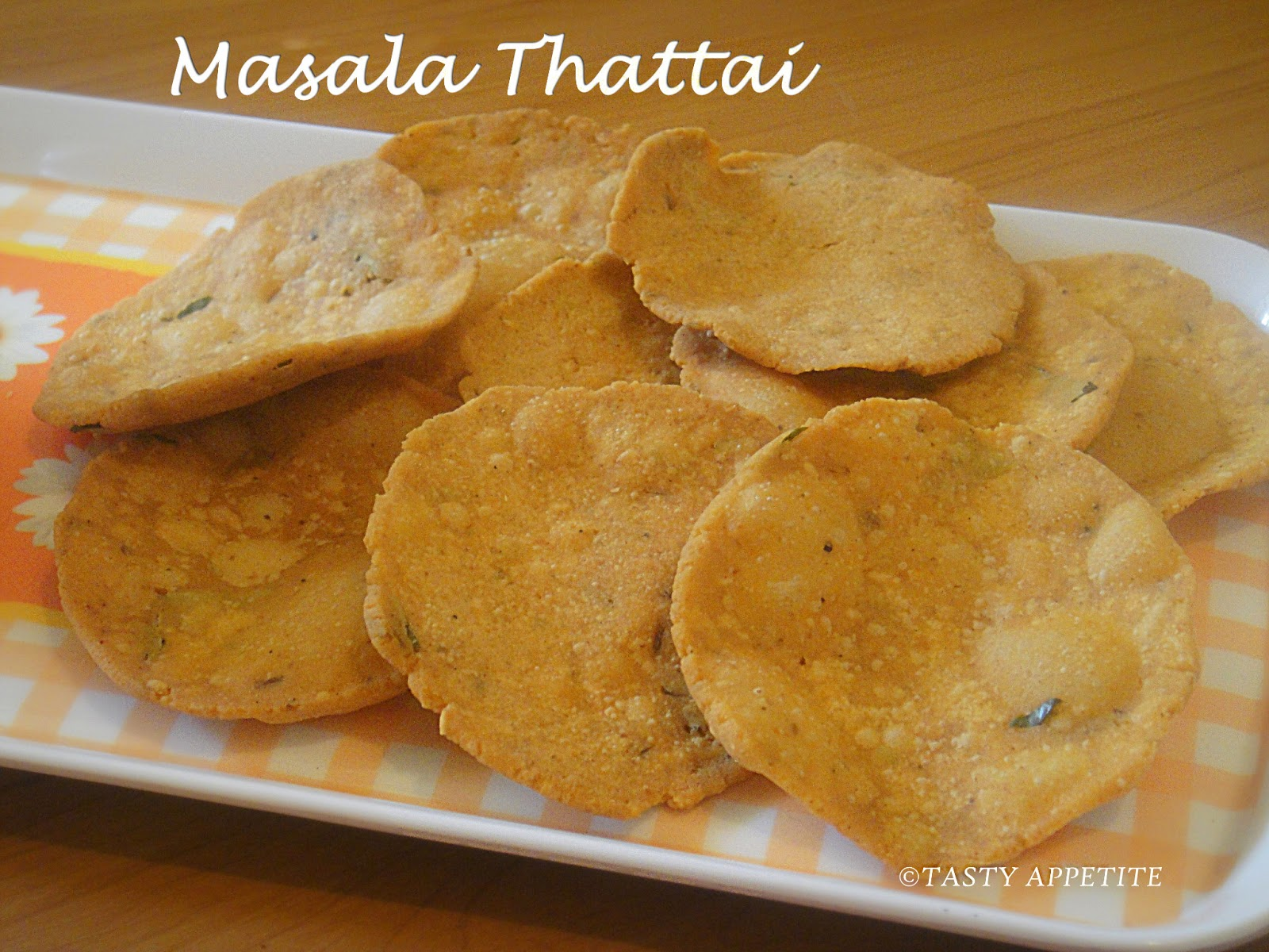 Try This Tasty Indian Recipe For Masala Thattai And Share Your Comments