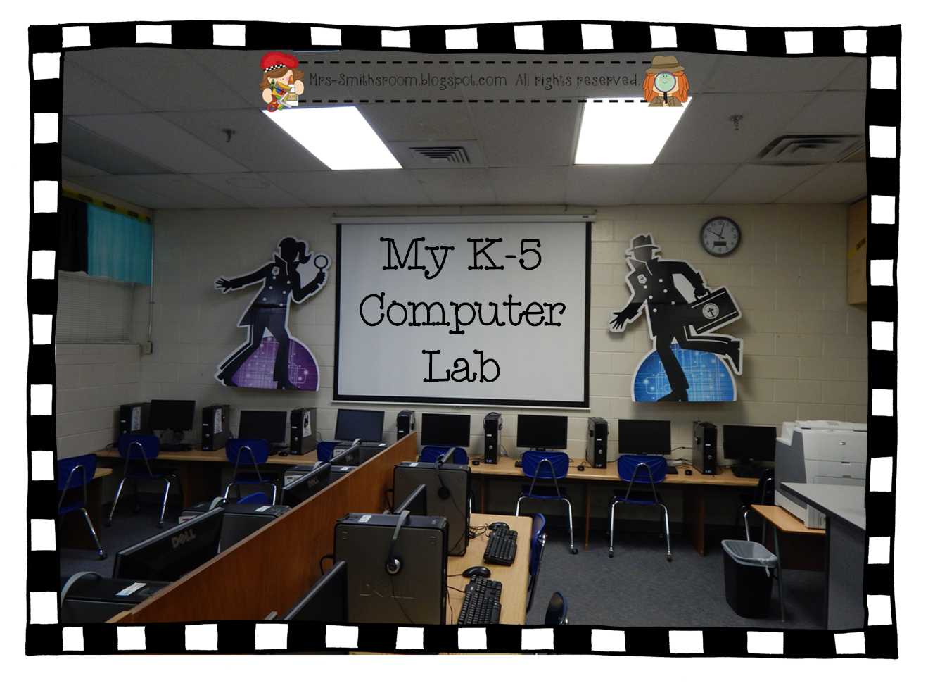 Computer Lab Decorations Elementary ~ Mrs smith s room