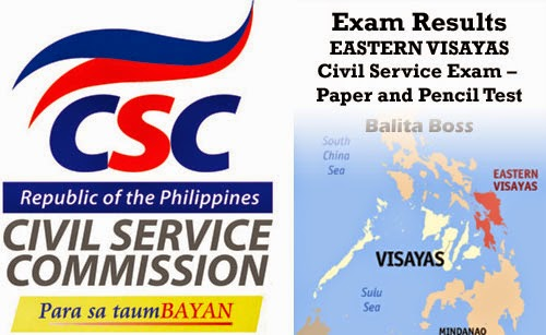 Region 8 - Civil Service Exam Results