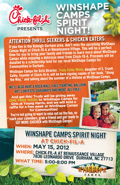 Chick-fil-A Winshape Camps Spirit Night