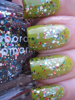 OPI Who The Shrek Are You with Deborah Lippmann Happy Birthday