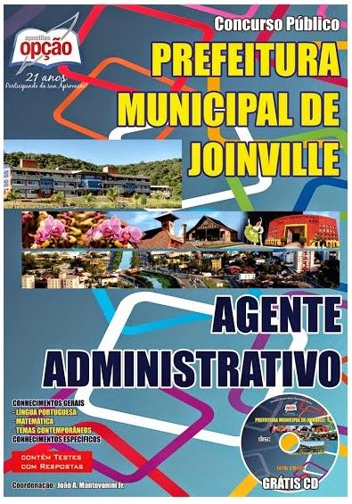 Apostila para o Concurso Público Município de Joinville - Edital 005/2014