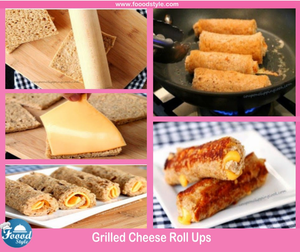 Yummy Grilled Cheese Roll Ups Idea Foood Style