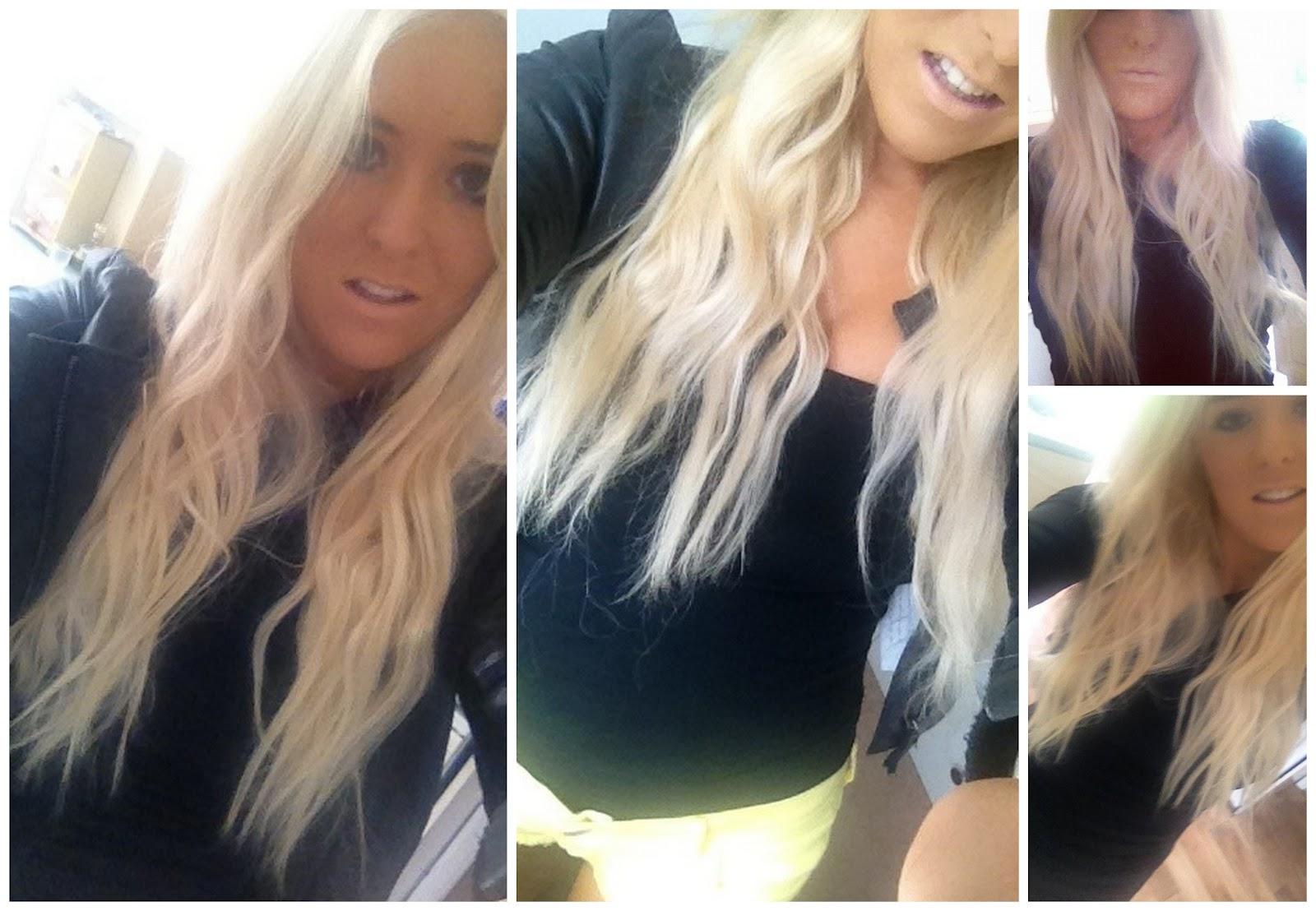 Blonde Hair Black Underneath I love the fact that my hair