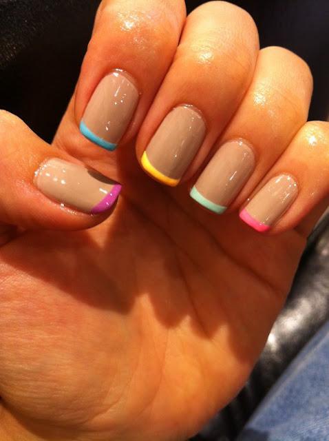 Tonalidades muy veraniegas y jugosas para tus uñas