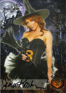 Jennifer Korban dresses up a wicked witch