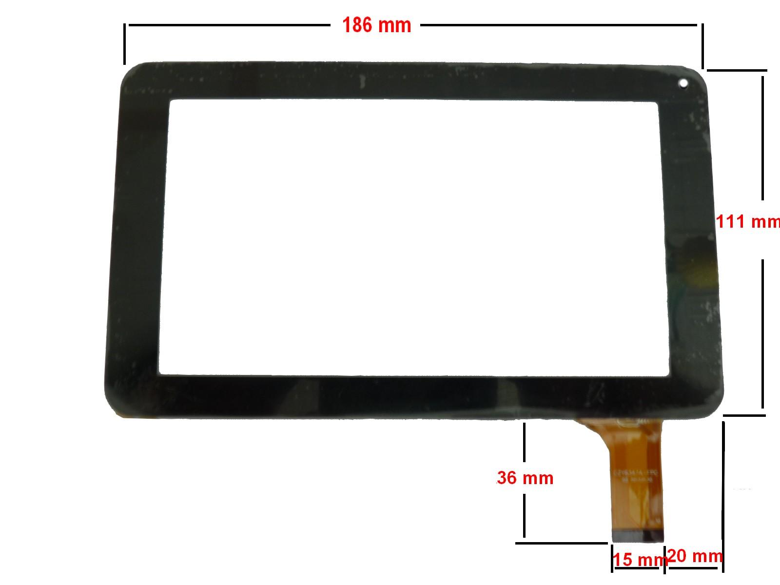ecran tactile pour tablette polaroid storex mpman. Black Bedroom Furniture Sets. Home Design Ideas