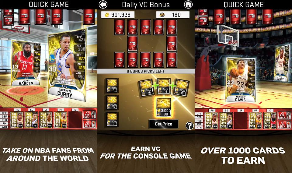 NBA 2K15 App