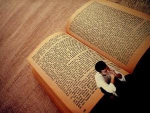 La vida es un libro.
