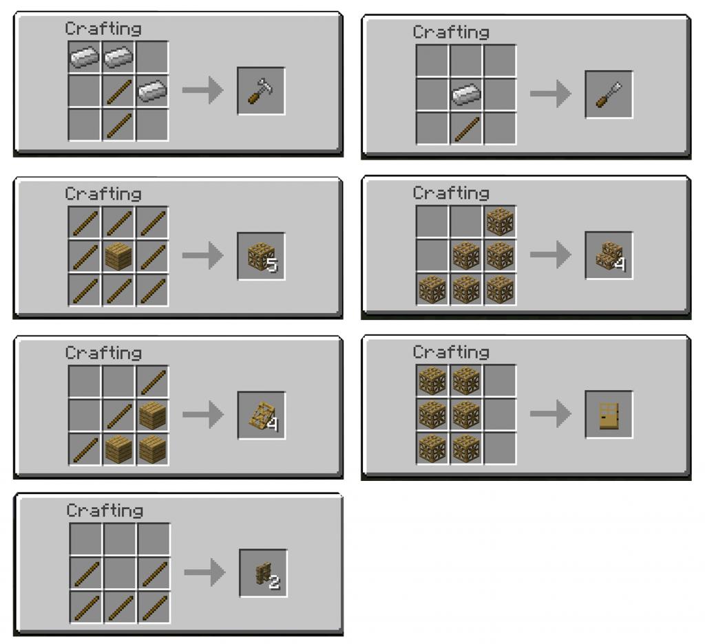 Minecraft tnt mods carpenter s blocks 1 7 2 - Minecraft comment faire une table de craft ...