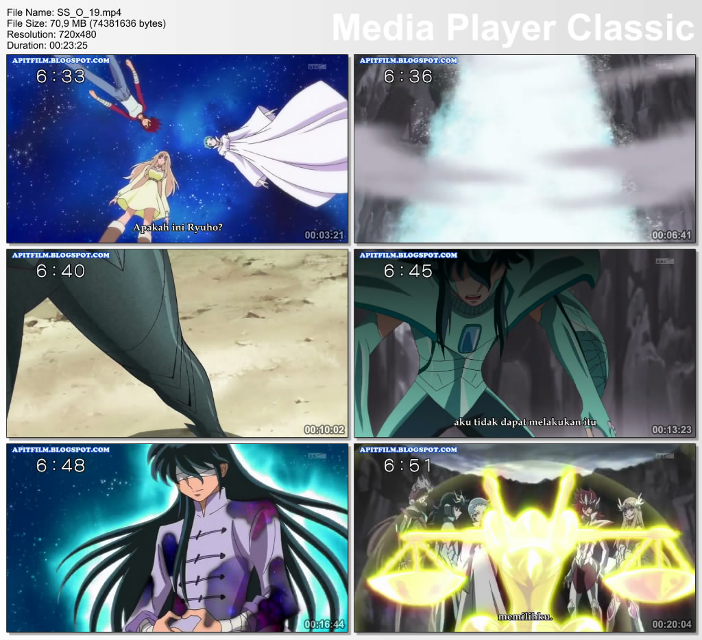 Download Saint Seiya Omega Episode 19 Subtitle Indonesia