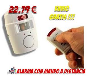 alarma con detector de movimiento
