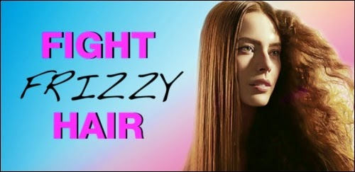 Frizzy hair care