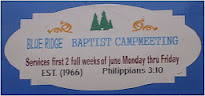 2016 Campmeeting Dates