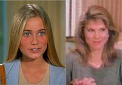 Maureen McCormick y Leah Ayres, Marcia Brady, cambios de actores