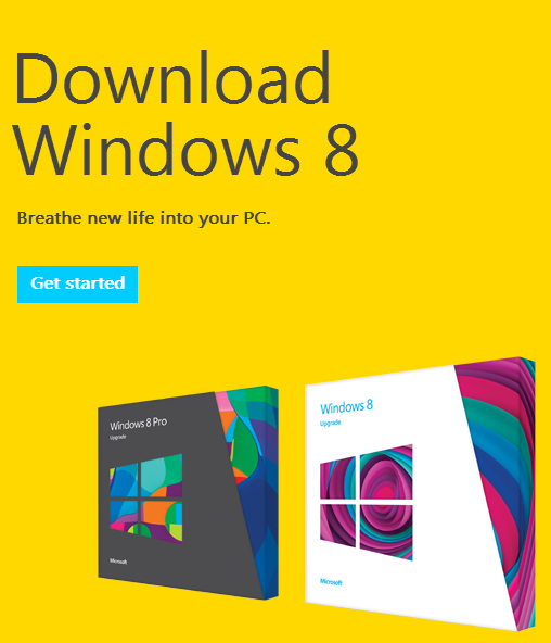 Windows 8 - Download Now!