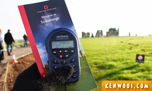 stonehenge audio guide