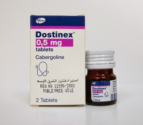 dostinex tablets دوستينكس أقراص