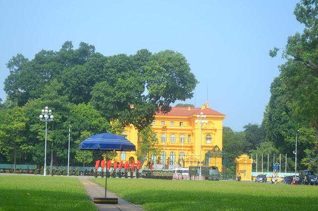 Presidential palace hanoi vietnam