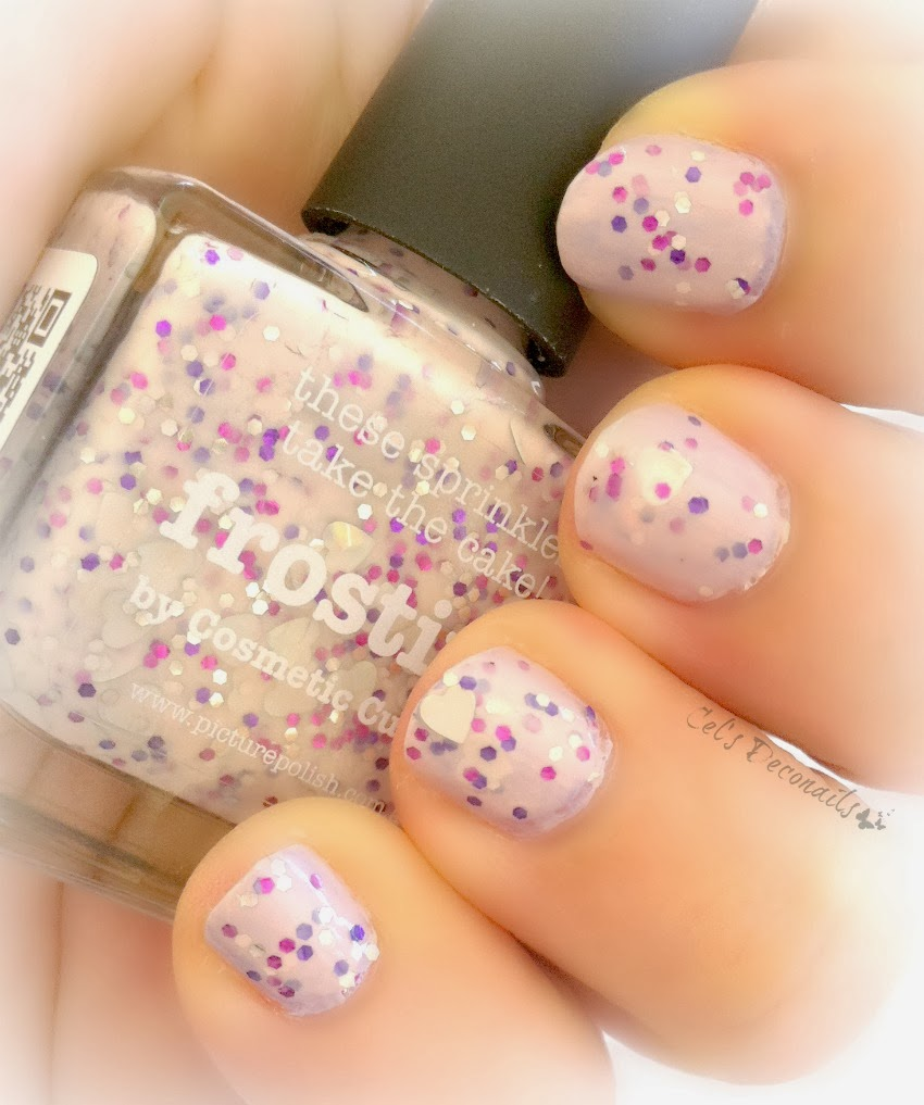 Picture Polish Frosting, a nail polish by Cosmetic Cupcake