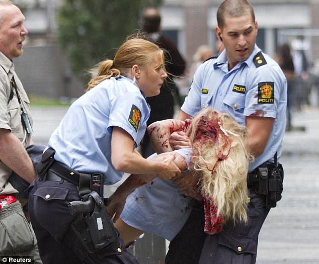 serangan pengganas di Norway
