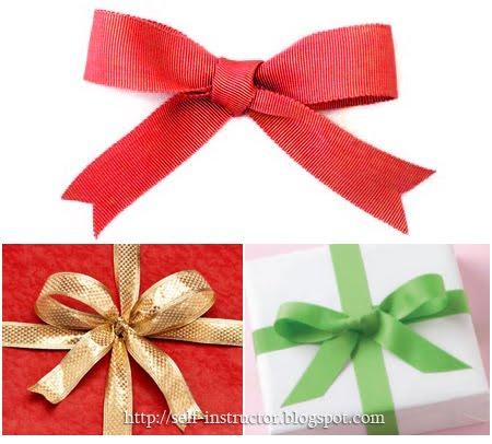 Как да направим панделка за подарък