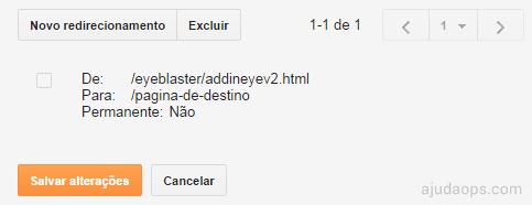 Redirecionando visitantes da página addineyev2.html para uma página sem erros | AjudaOps!