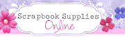 April Sponsor- Scrapbook Supplies Online