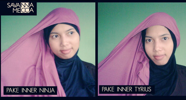 Tutorial Jilbab untuk wajah bulat