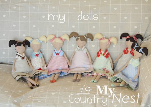 blog hand made My country Nest inspirujacy blog lalki hand made