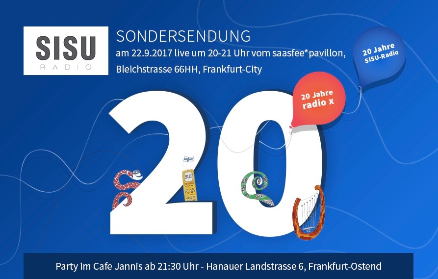 SISU-radio 20 yrs