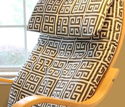 cover a chair diy