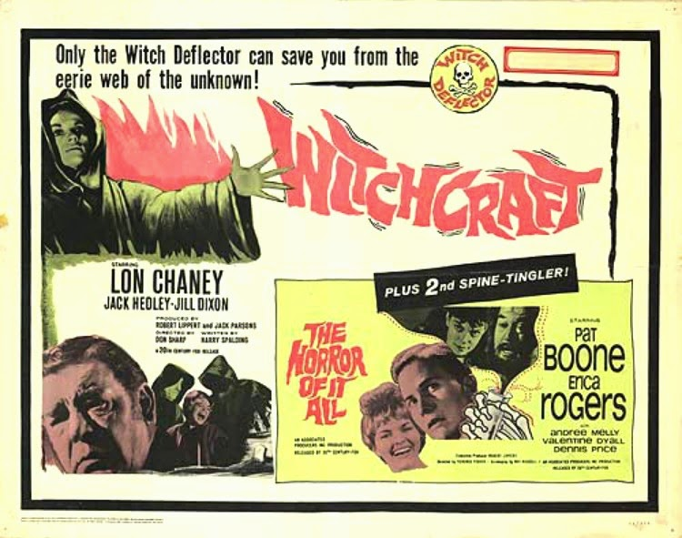 A Vintage Nerd, Classic Film Blog, Old Hollywood Blog, Classic Witch Movies, Vintage Blog, Witchcraft