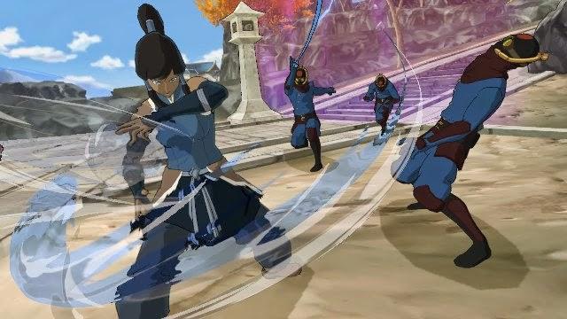 Avatar The Legend of korra PC Games Screenshots