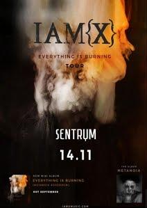 IAMX @SENTRUM, KYIV