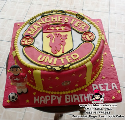 Kue Tart Manchester United Fondant