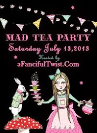 mad tea fairy party 2013